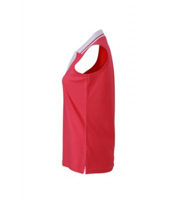 Sleeveless-Polo-Shirt-Pink-T-Shirt-JN-159-3