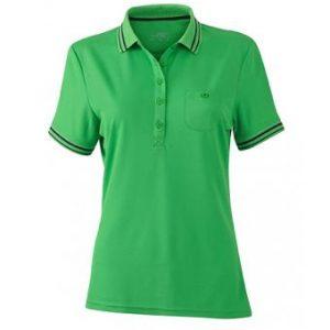 Women-Polo-Shirt-Green-Carbon-T-Shirt-JN-701-1