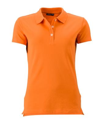 Women-Polo-Shirt-Orange-T-Shirt-JN-356-1