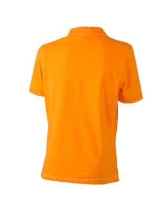 Women-Polo-Shirt-Orange-T-Shirt-JN-568-2