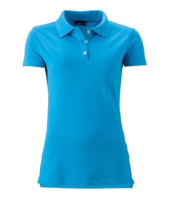 Women-Polo-Shirt-Turquoise-T-Shirt-JN-356-1