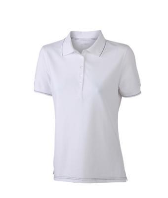 Women-Polo-Shirt-White-T-Shirt-JN-568-1