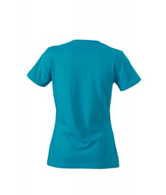 Women-t-shirt-Caribbean-Blue-T-Shirt-JN-972-2