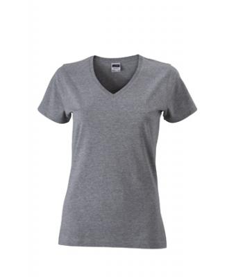 Women-t-shirt-Grey-Heather-T-Shirt-JN-972-1