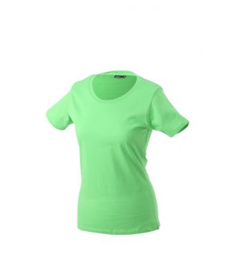 Women-t-shirt-Lime-Green-T-Shirt-JN-901-1