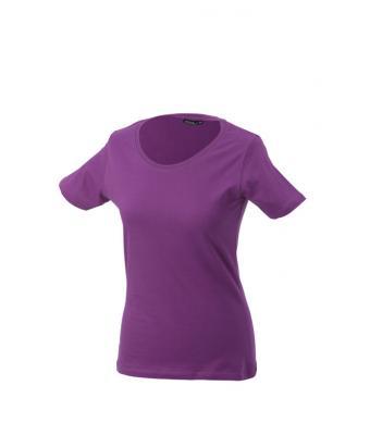 Women-t-shirt-Purple-T-Shirt-JN-901-1