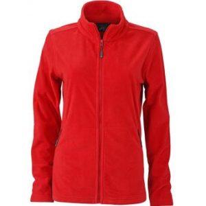 Womens-Fleece-Jacket-JN765-red-1
