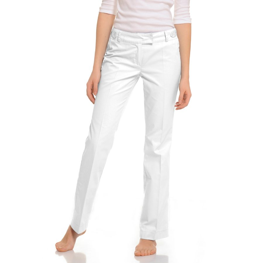 Womens-Medical-trousers-Sagitta-White
