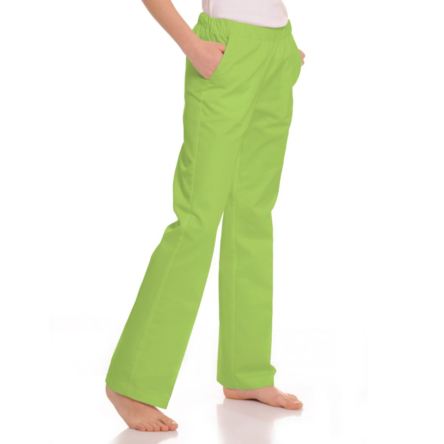 Womens-Medical-trousers-with-pockets-Pavo-Green