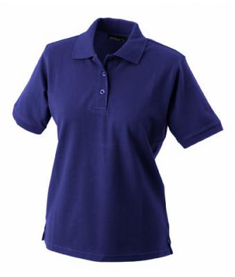 Womens-Polo-Shirt-Aubergine-T-Shirt-JN-071-1
