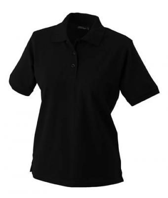 Womens-Polo-Shirt-Black-T-Shirt-JN-071-1
