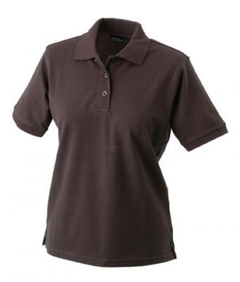 Womens-Polo-Shirt-Brown-T-Shirt-JN-071-1
