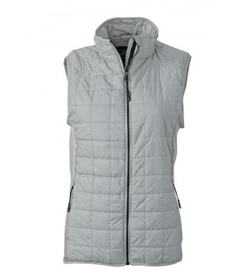 Womens-Sleeveless-Jacket-JN1113-silver-1