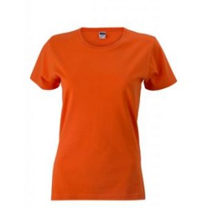 Womens-t-shirt-Dark-Orange-T-Shirt-JN-971-1