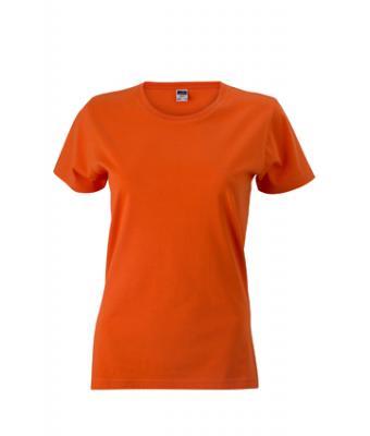 Womens-t-shirt-Dark-Orange-T-Shirt-JN-971-1
