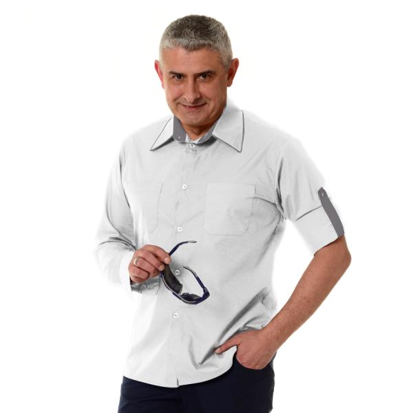 Embroidered-Work-Shirt-Оnda-Мen-white