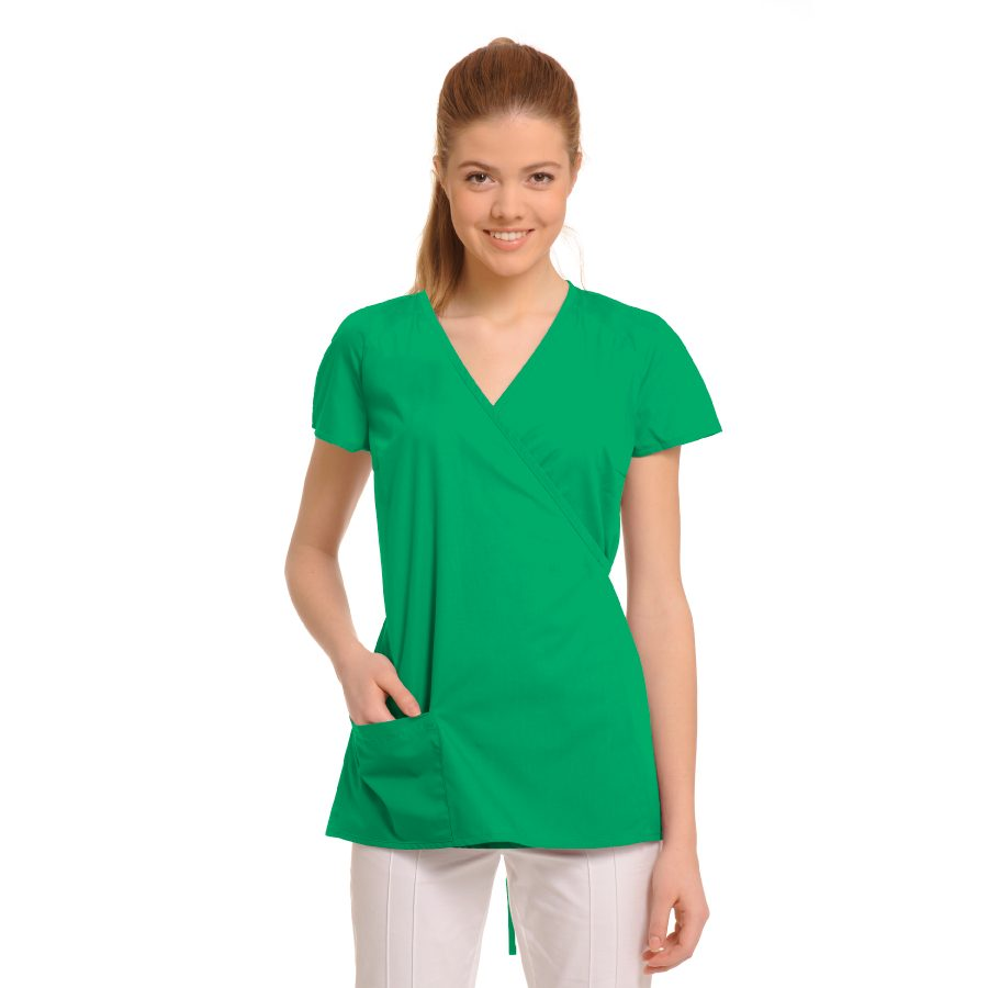 Ladies-Tunics-for-Work-Ara-Green