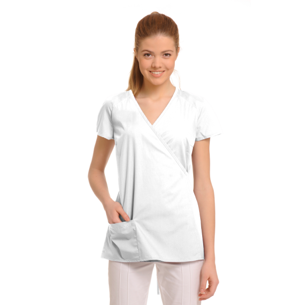 Ladies-Tunics-for-Work-Ara-White