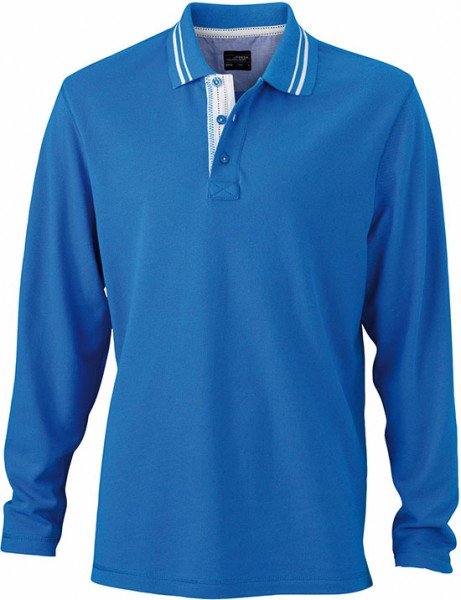 Long-Sleeve-Polo-Shirt-for-Men-JN968-cobalt