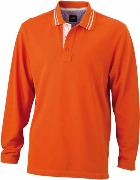 Long-Sleeve-Polo-Shirt-for-Men-JN968-dark-orange