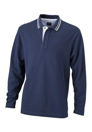 Long-Sleeve-Polo-Shirt-for-Men-JN968-navy