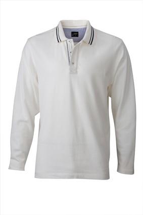 Long-Sleeve-Polo-Shirt-for-Men-JN968-white