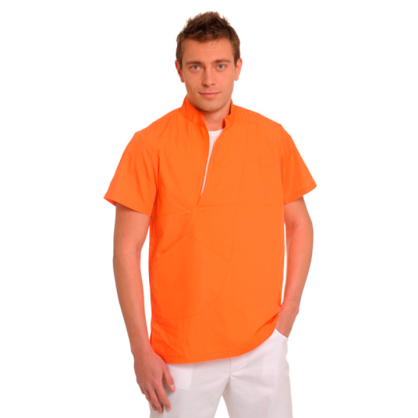 Medical-Tunics-for-men-Aries-Orange