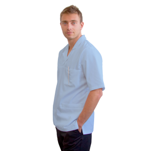Medical-Tunics-for-men-Dorado-Men-Light-Blue
