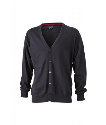 Mens-Cardigan-JN661-black