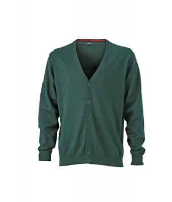 Mens-Cardigan-JN661-forest-green-1