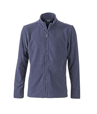 Mens-Fleece-Jacket-JN766-navy