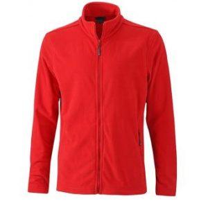 Mens-Fleece-Jacket-JN766-red