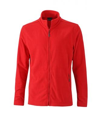 Mens-Fleece-Jacket-JN766-red