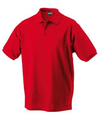 Mens-Polo-Shirt-JN070-Red