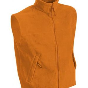 Mens-Sleeveless-Jacket-JN045-orange