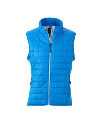 Men's Sleeveless Jacket-JN1114-cobalt-1
