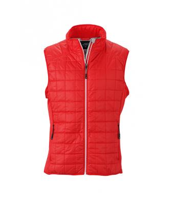 Men's Sleeveless Jacket-JN1114-light-red