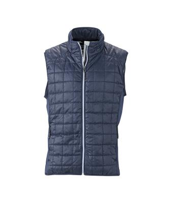 Men's Sleeveless Jacket-JN1114-navy