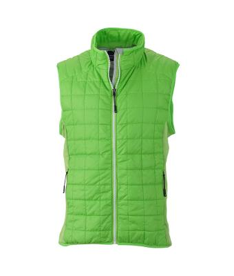 Men's Sleeveless Jacket-JN1114-spring-green-1