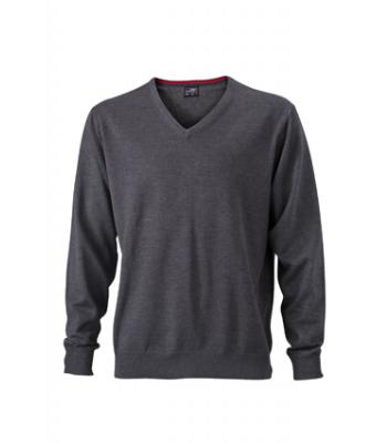 Mens-Sweater-JN659-anthracite-melange