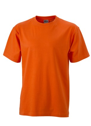 Mens-Work-T-shirt-JN002-dark-orange