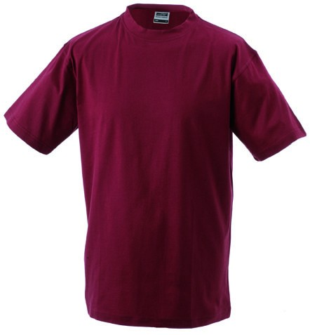 Mens-Work-T-shirt-JN002-wine