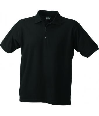 Polo-shirt-black-JN027