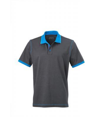 Polo-shirt-graphite-azur-JN980