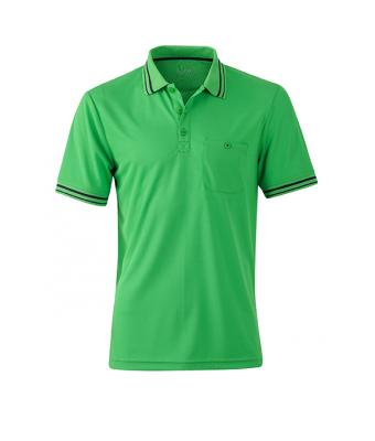 Polo-shirt-green-carbon-JN702