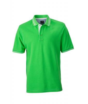Polo-shirt-green-off-white-JN947-1