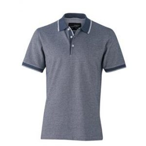 Polo-shirt-navy-white-JN704