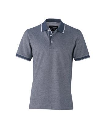 Polo-shirt-navy-white-JN704