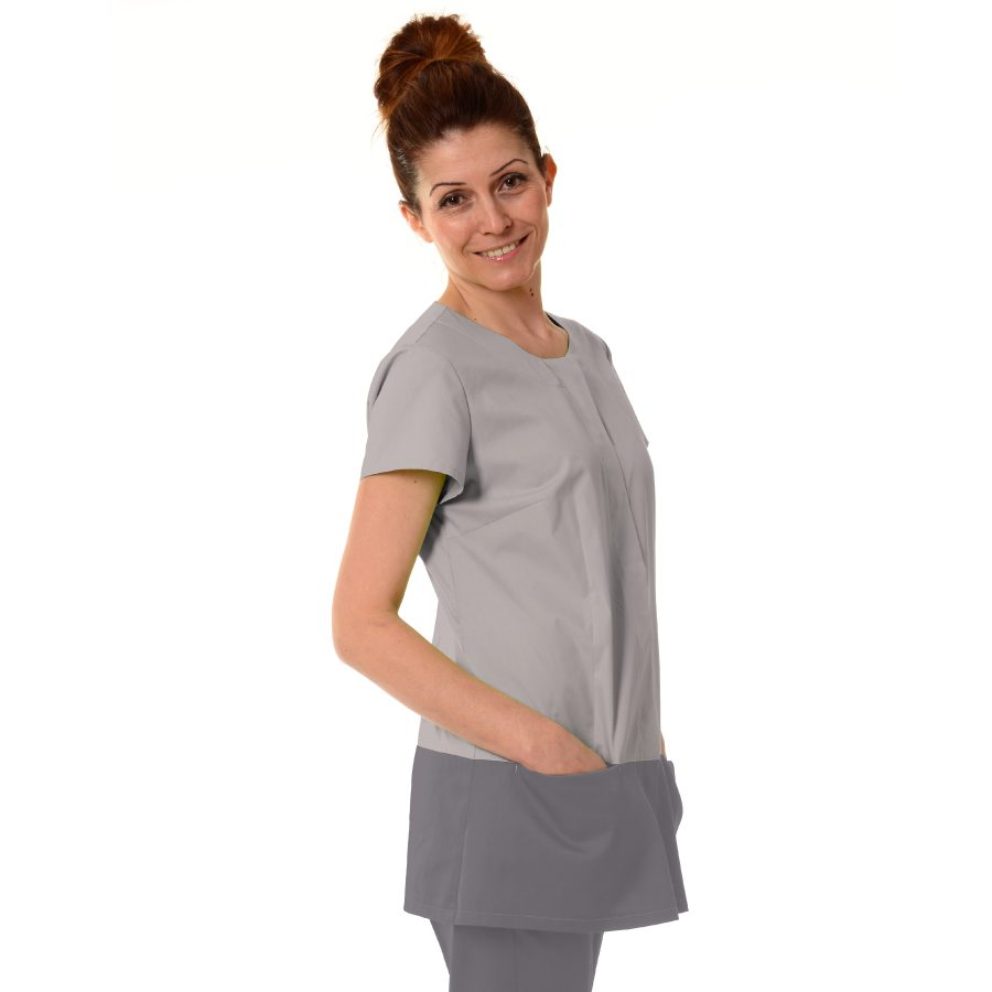 Womens-Tunics-for-Work-Columba-light-grey
