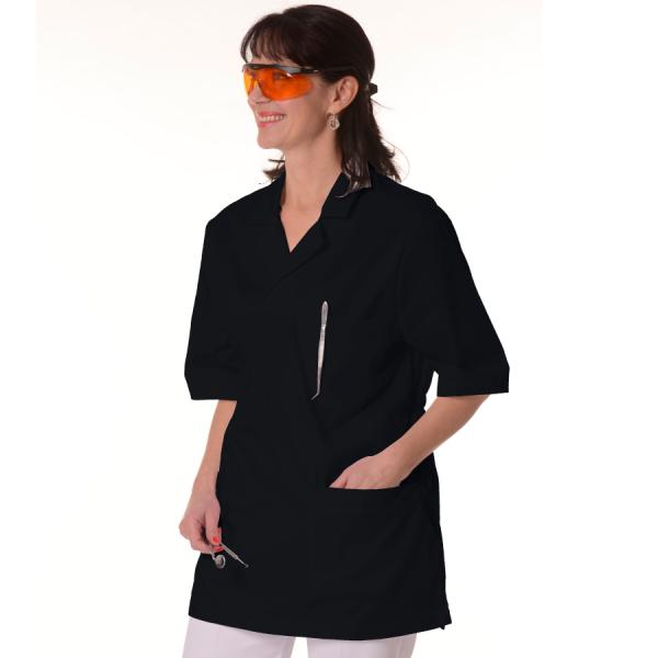 Womens-Tunics-for-Work-Dorado-Black